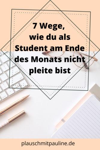 Mehr Geld als Student