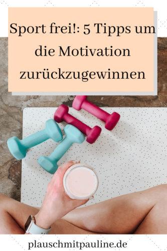 Mehr Motivation beim Sport