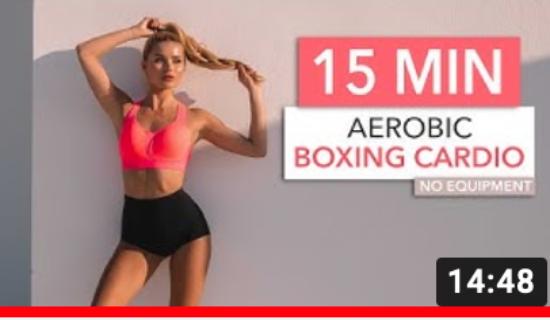 Pamela Reif Workout, Aerobic Boxing Cardio